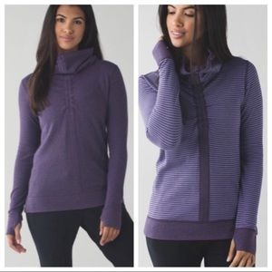 Lululemon | In a Cinch Reversible Pullover